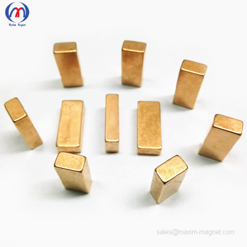 Neodymium block magnets with Ni-Cu coating