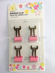 creative musache metal binderclips bookmark paper clips push pins