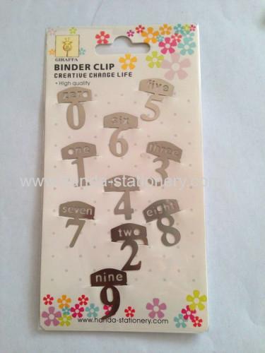 creative figure shapemetal bookmark paper clips push pins