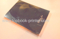 UV coating silver foil cover garment softcover book