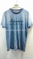100%cotton bambo jersey mens T-shirt