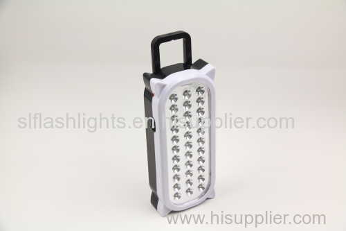 33LED Plastic Rechargeable Emergency Lamp