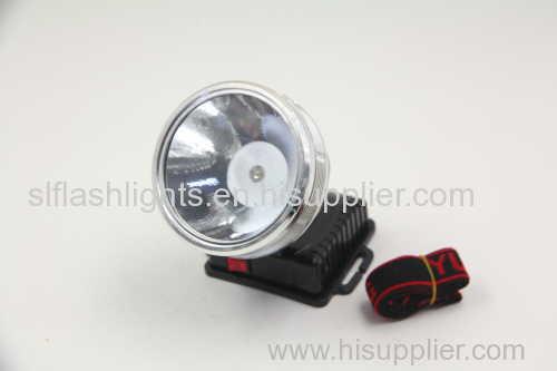 1pc Plastic LED Head Lamp