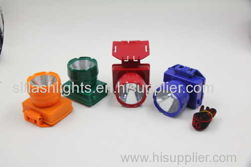 Dry Battery 1pc Plastic Head Lamp