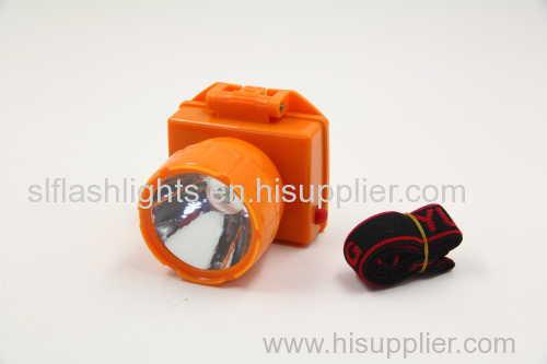 1pc Plastic LED Head Lamp Dry Battery