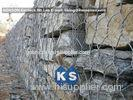 Economical High Strength Galvanized Gabion Basket For Gabion Constructions