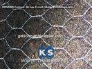 Woven Wire Gabion Mesh Fence Galvanized Protecting Gabion Fence Net