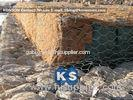Double-Twisted Hexagonal Gabion Mesh PVC Coated Wire Stone Gabion Cages