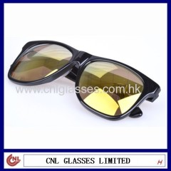Popular Customized Mirror Polarized lens Wholesale Acetate Sunglasses