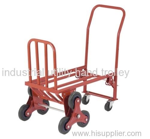 Folding eight wheels garden carts and wheelbarrows