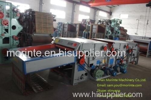 Three roller opening machine