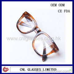 Clear lens promotion wayfarer custom cheap sunglasses