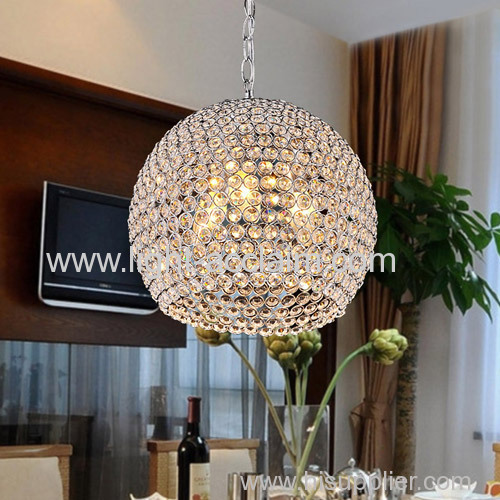 Modern crystal art restaurant dining room aisle with decorative decrystal room lighting pendant lighting for dining room