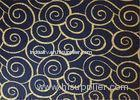 Black Bronzing 20mm Soundproofing Acoustic Panels with Gold Stamp for Decorative
