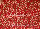 Red 12mm Bronzing Acoustical Wall Panels / Acoustic Absorber Panels