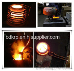 Metal Scrap Induction Melting Furnace