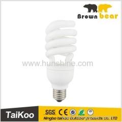 e27 semi spiral energy saving dimmer bulb lamp