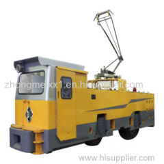 55 ton electric locomotive for big mines or tunneling construciton haulage