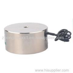 12V 24V DC Electromagnet Lift Circular Electromagnets