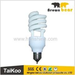 half spiral energy saving bulb e27