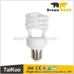 half spiral e27 energy saving light bulb machines