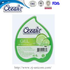 150g hot sale new design peach air freshener