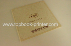 FSC ivory board cover landscape home decoration softcover book