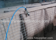 Pre-Fabricated Gabion Hesco Blast Barrier