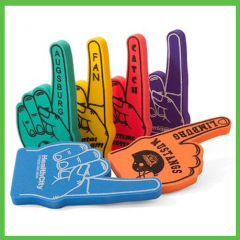 Popular #1 Cheering Soft Sponge Foam Finger Hand