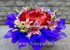 Fresh Flowers OPP Flower Wrapping Sheets Bio-Degradable and Reusable