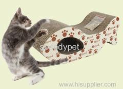 Cat Scratch giocattolo nuovo cartone design scratcher con i piedi costante