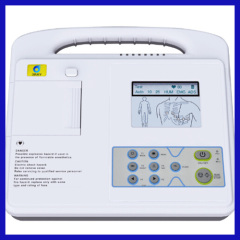 Single Channel Electrocardiograph ecg machine