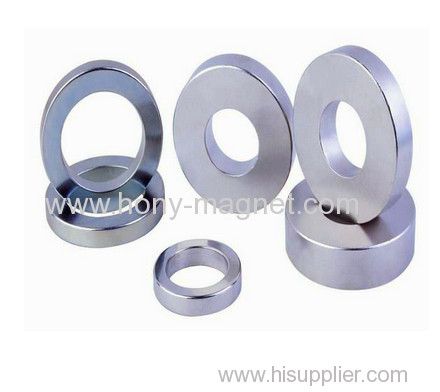 Large stock standard sizes ring magnet