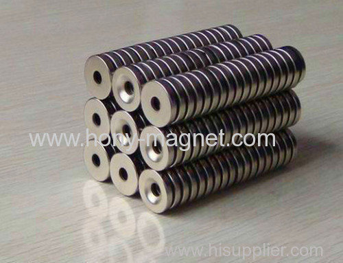 Different Sizes Neodymium Magnetic Rings
