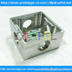 high quality cuttomized cnc machined aluminum panel parts at low volume