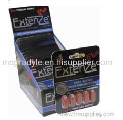 Extenze Extenzen Sex Products Male Enhancer Sex Pills for Man 4pills*12tabs