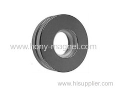 Zn Coated Neodymium Round Magnets With Holes