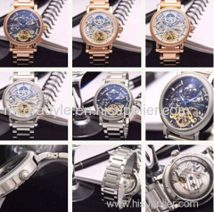 Patekk Philippee horloge Fashion Design vliegwiel Screen 2015 Nieuw horloge