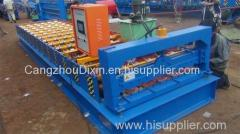 trapezoidal roof sheet roll forming machine