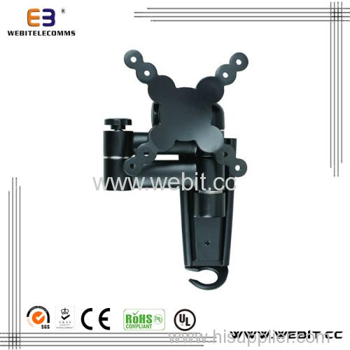 "up to 24"" aluminum telescoping Tv wall mounting bracket"
