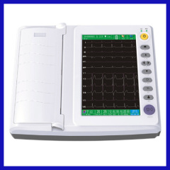 15 channel 12 leads cheap ecg machine with automatic analysis function