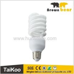 high power half spiral saving energy light bulbs