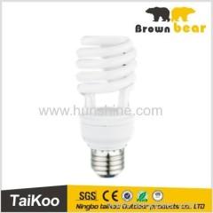 half spiral cfl energy saving lamps