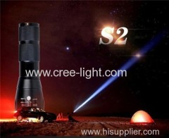 Recharge Aluminium 400 Lumens CREE XM-L T6 Led flashlight