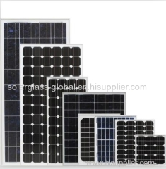 200w anti-reflective tempered mono solar panel