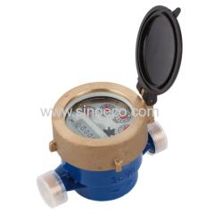 Single jet Liquid seal register Vane wheel Water Meter