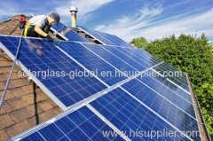 250w anti-reflective poly solar panel