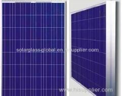 260w anti-reflective poly solar panel