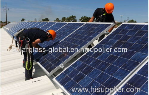 300w poly solar panel PV mould for solar system