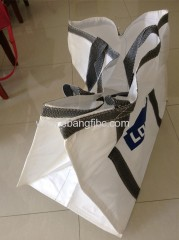 park fallen leaves used bulk bag big bag